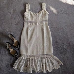 NWT Gorgeous Off-White Dress (Actual Size: Small)